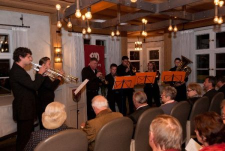 Musikalische Untermahlung beim Jubliäum der SPD Gräfenberg