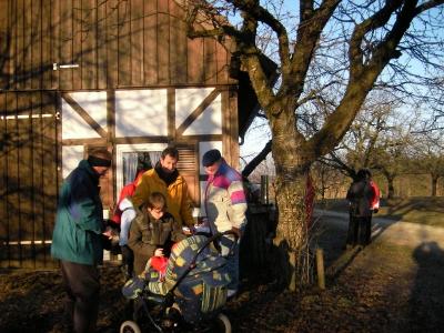 Winterwanderung 2008 des SPD Ortsvereins nach Lilling