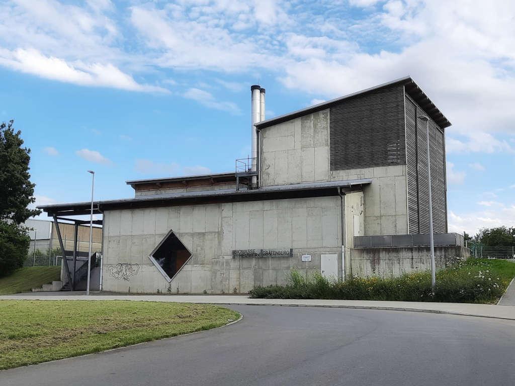 Biomasse Heizkraftwerk Gräfenberg