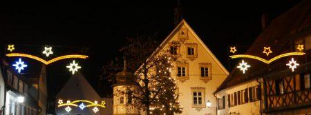 Weihnachten Gräfenberg Rathaus