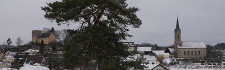 Thuisbrunn im Winter